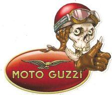 Sticker MOTO GUZZI right skull droit°