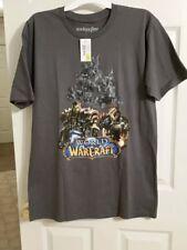 World of Warcraft T-Shirt WOW Tee Small Medium Large Shirt Gray NEW 100% Cotton