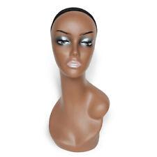 45cm Mannequin Head Model Female Manikin Wig Scarf Glasses Hat Display Stand