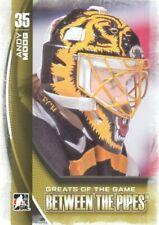 2013-14 ITG Between the Pipes Hockey #97 Andy Moog GOTG Boston Bruins