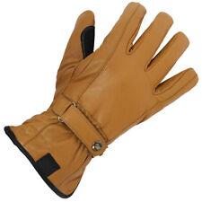 Spada Ladies Freeride Waterproof Leather Touring Gloves Tan Motorbike Motorcycle