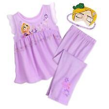 Disney Store Princess Tangled Rapunzel 2 PC Pajama Set Girl Size 4 6299baeb3