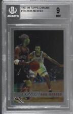 1997-98 Topps Chrome 124 Ron Mercer BGS 9 MINT Boston Celtics Houston Rockets RC