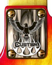 Neck Plate Neckplate Gold Fender Strat Tele J Bass P Bass Guitar Eagle Custom