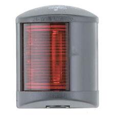 Trem Square Black Navigation Light - Port Red 12v 10w