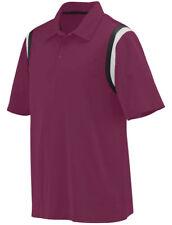 Augusta Sportswear Men's Moisture Wicking Three Button Genesis Polo Shirt. 5047