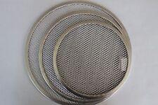 """Pizza Screen Tray Crisper 8""""-10"""" -12"""" -14"""" Seamless Heavy Duty Aluminum Trays"""