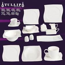 Servizio Cena in Porcellana set da caffè piatti tavolo 6+12 Pers ALEGRA