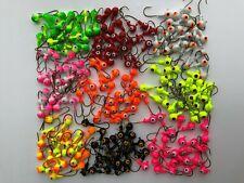Lures Pro 25 PCs 3/16 OZ 1/4 oz Lead Jighead Fishing hooks Jig Heads Bass