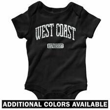 West Coast Represent One Piece - Cali Rap Baby Infant Creeper Romper - NB to 24M