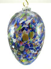 Deko Osterei. Osterei aus Glas. XXL 17 cm.groß. Verschiedene Farben.