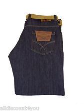New Mens Kori King Big Regular Fit Designer Jeans Black Blue Waist Size 40 - 56