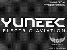 Yuneec Electric Aviation Logo Window Case Decal Sticker Typhoon H 520 Drone ST16