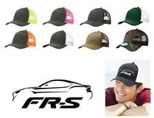 Toyota FRS Color Outline Design Trucker Hat Cap