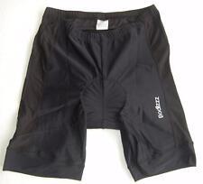 Bodizzz Cycling Bike Knicks padded shorts BIG SIZE Mens Womens Black 2XL3XL 4XL
