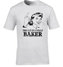 Baker T-shirt idée cadeau unique modèle occupation Job T-shirt drôle T-shirt