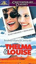 Thelma & Louise VHS Tape Susan Sarandon Seena Davis