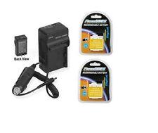 2 DMW-BCM13 DMW-BCM13E DMW-BCM13PP Batteries + Charger for Panasonic DMC-ZS27