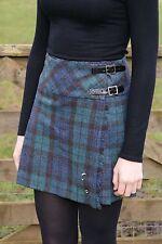 Onorevoli autentici Shetland Lana MINI kilt Black Watch Tartan Antico tb0801