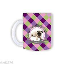 Mops-Tasse mit Namen Englische Bulldoge French Bully Tasse Becher Hund Foto