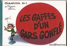 Gaston n°5:fac-similé Marsu productions