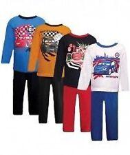 garçons Disney voiture Pyjama - -2 à 6 ans 4 couleurs blanc, Marine, jaune, bleu