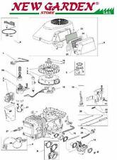 Explode slice engine series THREE mower lawn mower Castelgarden three 702