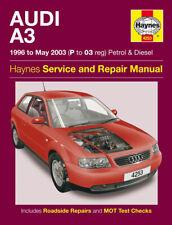 Haynes Workshop Repair Manual Audi A3 96 - May 03