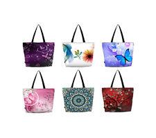 Lightweight Travel Tote Bag Foldable Shopping Bag  - Med Size