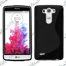 Etui Coque Housse TPU Silicone Gel LG G3 S/ Beat/ Vigor/ D722/ Dual/ G3S