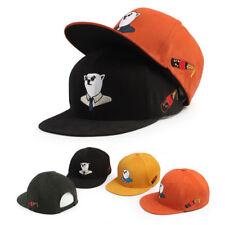 XL XXL 2XL 61~64Cm Unisex Mens Mqum Polar Bear Baseball Cap Hiphop Snapback Hats