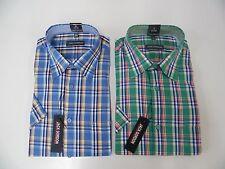 c5161d45da 2 Herren Freizeit Hemden mit Kentkragen aus 100 % Baumwolle