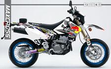 SUZUKI DRZ400S DRZ400SM DRZ400E 2000 2001 2018 MAXCROSS GRAPHIC FULL DECAL21 KIT