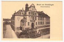 Sindelfingen, Kinder vor dem Neuen Schulhaus 1906