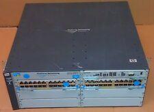 J8697A HP ProCurve 5406zl-48G w/ PoE 2x J8702A 1x J8712A 1xJ8726A +Prem Software