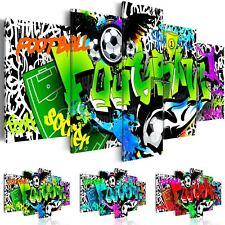 deko bilder drucke auf leinwand mit graffiti motiv g nstig kaufen ebay. Black Bedroom Furniture Sets. Home Design Ideas