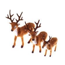 Christmas Simulation Plush Reindeer Xmas Elk Plush TOY New Year  Decora RAC