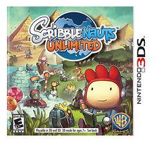 Scribblenauts Unlimited (Nintendo 3DS, 2012)