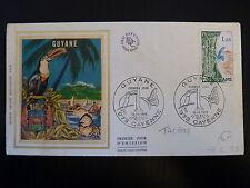 FRANCE PREMIER JOUR FDC YVERT 1865 A   REGION GUYANE   1,25F   CAYENNE  1976