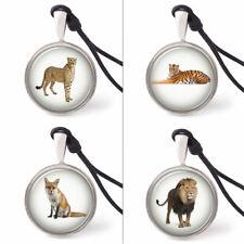 Vietguild's Predator Animals Necklace Pendants Pewter Silver