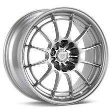 "ENKEI NT03+M 18x10.5"" Racing Wheel Wheels 5x114.3 ET30 F1 Silver"