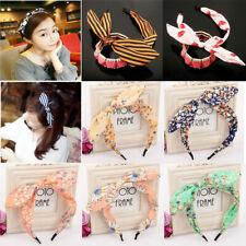 Femme Bandeau Turban Cheveux Noeud Papillon Floral Serre-tête Yoga Accessoires