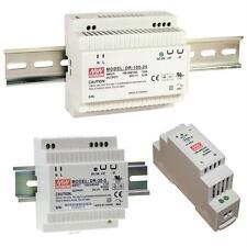 MeanWell Netzteile DR/DRP-Serie / Schaltnetzteile 5V 12V 15V 24V 48V
