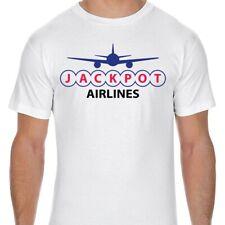 Jackpot Airlines Logo Adult T-Shirt