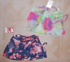 NWT Capezio 10606W Wrap Skirt Potpourri Ladies sizes chiffon Printed P/S M/L