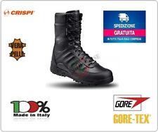SCARPONCINO SCARPONE TREKKING CACCIA CRISPI S.W.A.T. HTG BLACK anfibi militari | eBay