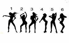 """SEXY LADIES VINYL Decals Sticker 1.5""""W X 4""""H  BUY 2  GET 1 FREE"""