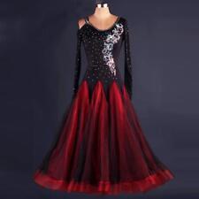 Womens Ballroom Dance Dress Modern Waltz Standard Competition Prom Evening Dress