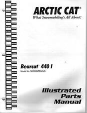 "2000  ARCTIC CAT BEARCAT 440  ""I""  PARTS  MANUAL DISCOUNTED"