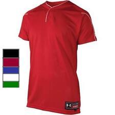 Under Armour MENS 2-Button Henley Jersey Shirt, 1100740 NEW!